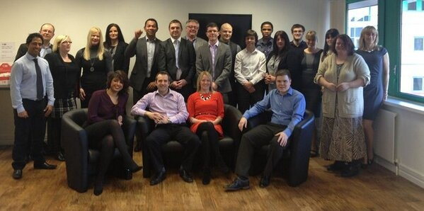 Innovise Software - Very happy to be a gold #iip2013 , meet #Innovise team smiling proudly in our offices in the West Midland