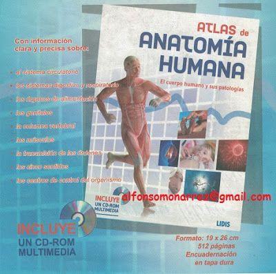 LIBROS MEDICINA: ATLAS DE ANATOMIA HUMANA Y SUS PATOLOGIAS