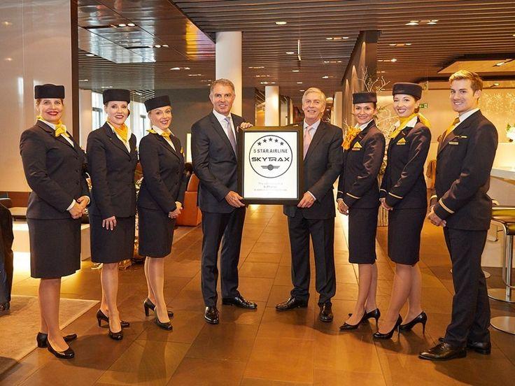Lufthansa, companie de 5 stele din Europa