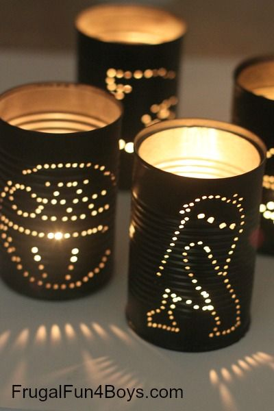 In honor of Star Wars day (May the 4th be with you), here is a simple Star Wars craft project. These Star Wars tin can lanterns are simple for bigger kids to make, and would be perfect for decorating at a Star Wars party. To light them up, use tea lights. Or to make them...Read More »