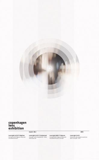 poster design: copenhagen lens expedition | typography / graphic design: Tobias…