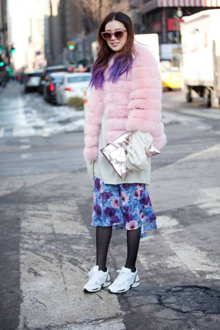 Street style at NYFW F/W 2014