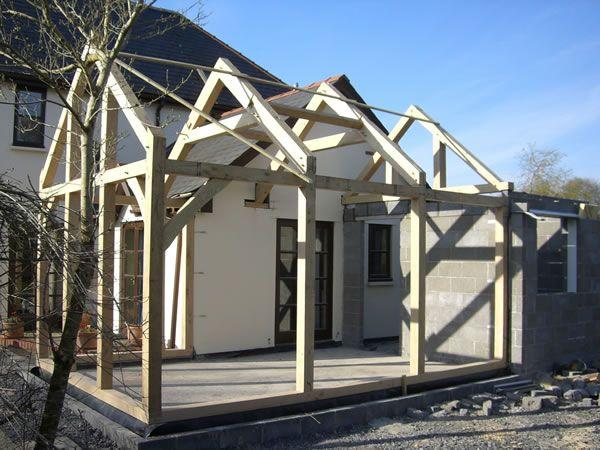 Cottage Oak - Oak framed Structures, garages, extensions, sun rooms - Carmarthenshire, South Wales
