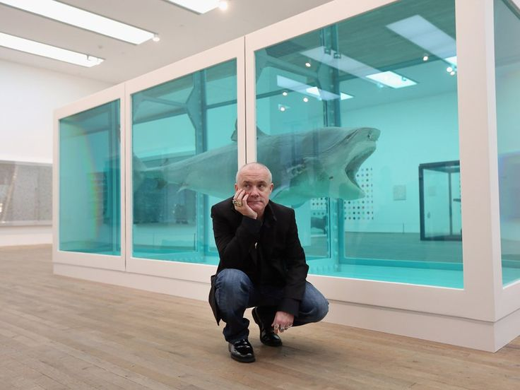 damien-hirst-shark The Physical Impossibility of Death in the Mind of Someone Living, Damien Hirst