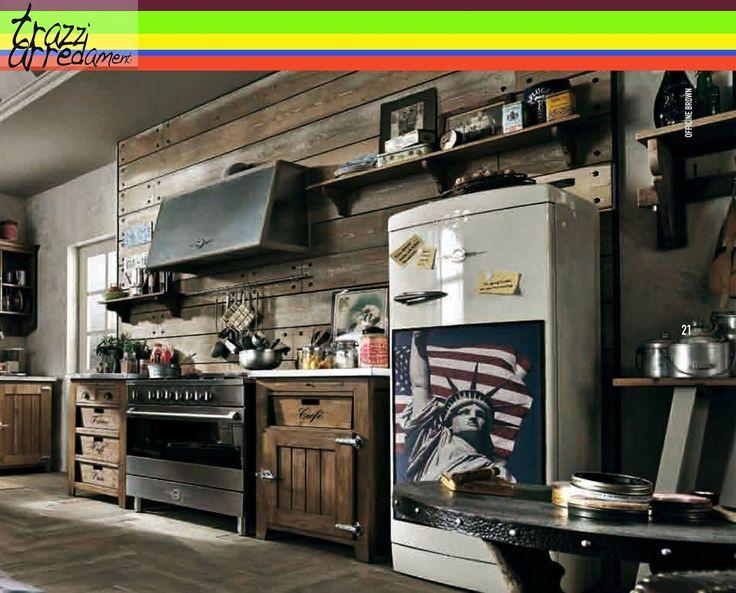 Divagazioni #vintage in #cucina. #trazziarredamenti