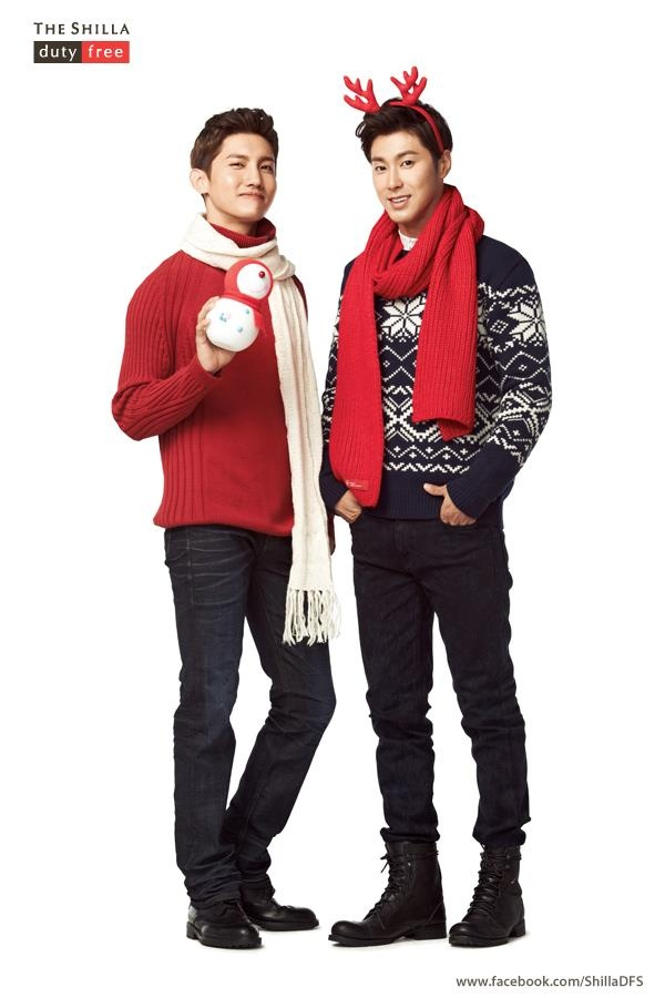 TVXQ New Christmas Seasons pictorial of Shilla DFS