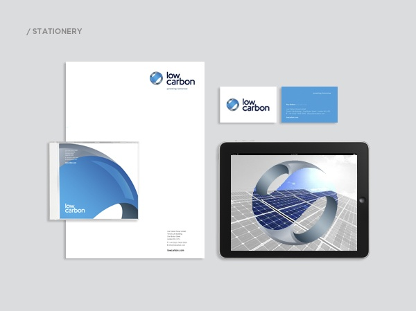 Low Carbon Rebrand by Lawrence Hansford, via Behance