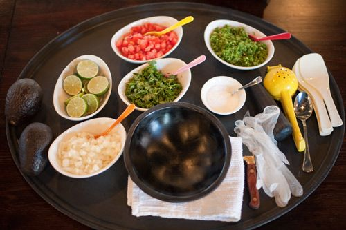 Fresh ingredients are key!   Learn How to Make Guacamole, With Chef Ivy Stark of Dos Caminos