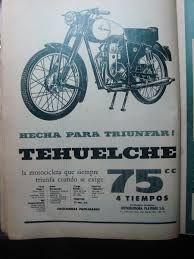 Resultado de imagen para moto tehuelche