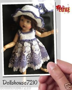 "Crochet and Lace Clothes for 7.5-8"" Kish Riley Helen Kish,Tonner BJD,Fairyland | eBay"
