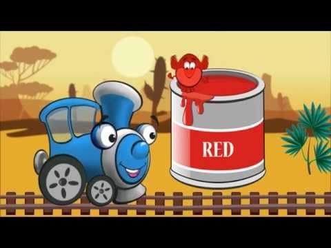 The color train - YouTube