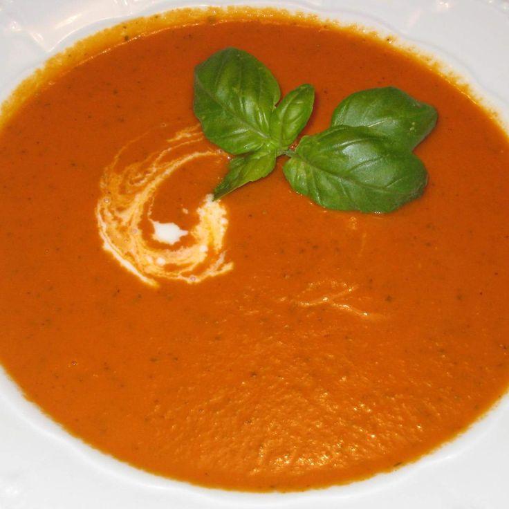 die besten 25 tomatensuppe rezept ideen auf pinterest suppen rezepte deftig schnelle und. Black Bedroom Furniture Sets. Home Design Ideas