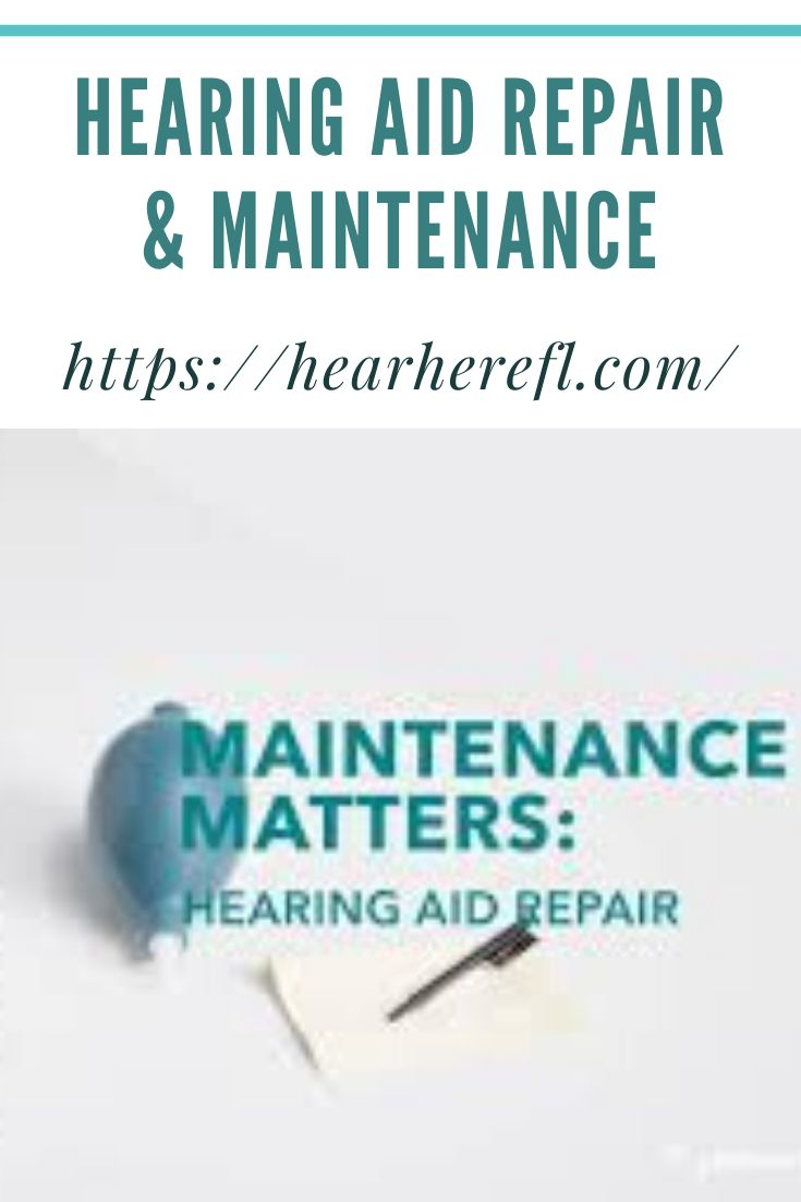 Pin On Hearing Aid Maintenance