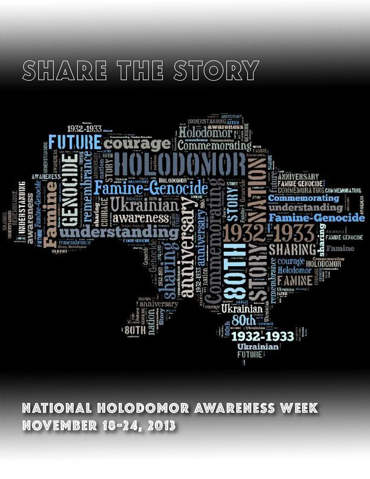 National Holodomor Awareness Week | November 18-24, 2013
