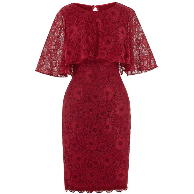 Real Photo Bodycon Short Evening Dresses with Cape 2017 New Arrival Bridal Prom Dresses Red Lace Gowns Evening Party Dress 0201