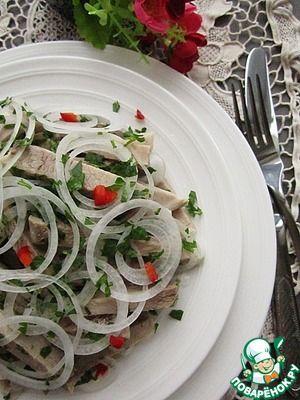 Деревенский свадебный салат - кулинарный рецепт