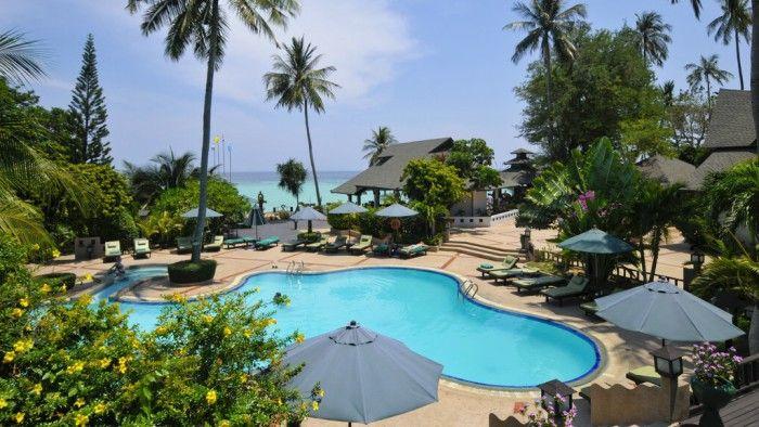 Phi Phi Island Hotels | Koh Phi Phi Holiday Inn Resort Phi Phi Island Blick auf Pool