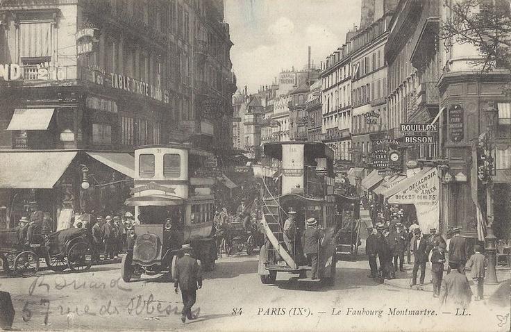 PARIS IXe - Faubourg Montmartre