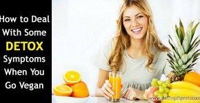 Vegan diet detox symptoms