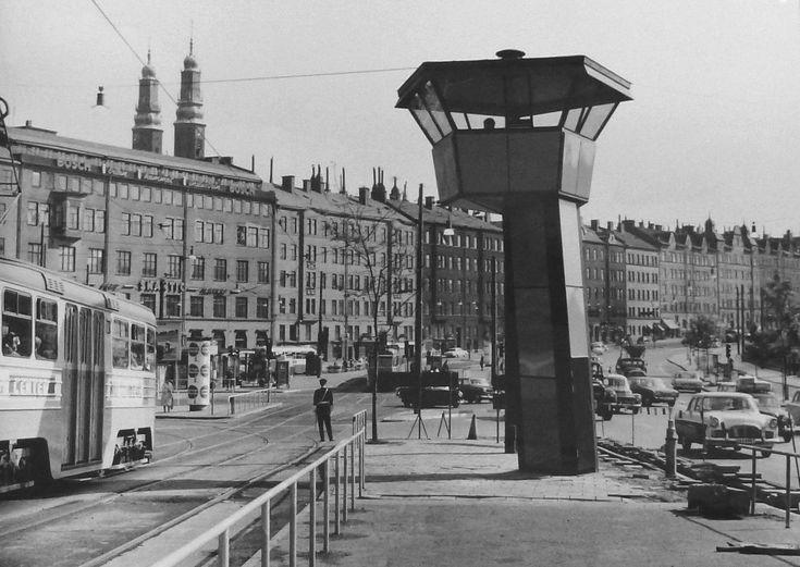 Hornstull mot norr 1962