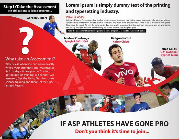 Sports Brochure Tennis Club \ Camp Tri Fold Brochure Sports - sports brochure