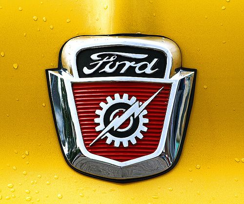 one of my favorite badges ever - Ford F-100