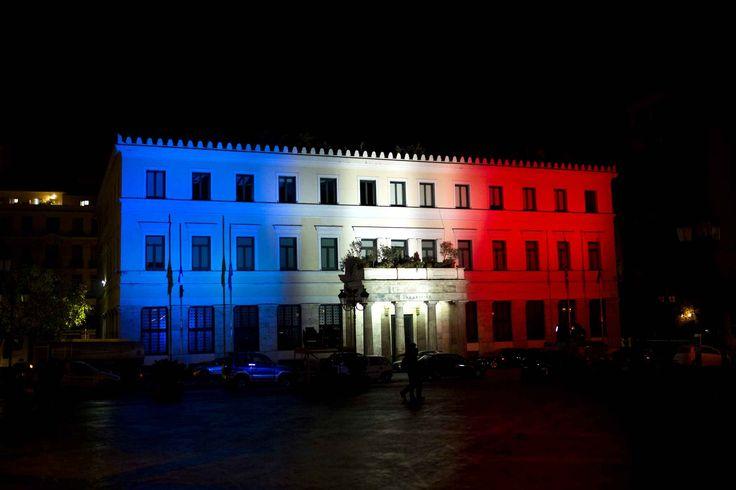 L'Hôtel de Ville d'Athènes (Grèce) - Angelos Tzortzinis - AFP