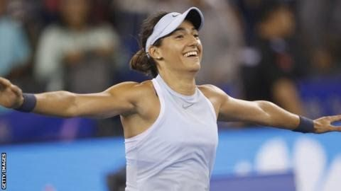 Garcia won the Wuhan Open last week to move up the rankings in the race for Singapore  Johanna  Konta is still not certain of qualifying for the WTA Finals in  Singapore after Caroline Garcia reached the China Open quarter-finals.  Britain's Konta holds the final qualification place for the eight-player season finale but can be overtaken by the Frenchwoman. World number 15 Garcia beat compatriot Alize Cornet 6-2 6-1 and plays Elina Svitolina or Elena Vesnina next. Garcia must reach at least…