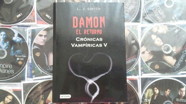 """""""Crónicas Vampiricas 5: Damon: El Retorno"""" escrito de L.J. Smith."""