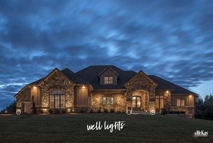 Learn more about this outdoor security lighting design in Elkhorn, Nebraska by McKay Landscape Lighting