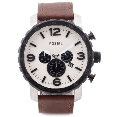 Buy Fossil JR1390 Brown Round Chronograph Watch by E TRADERS RETAIL, on Paytm, Price: Rs.8990?utm_medium=pintrest