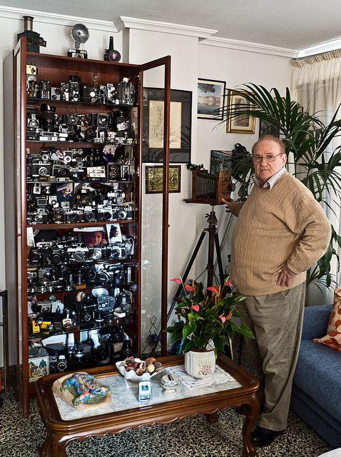 La colección de cámaras de mi amigo Toni Solivellas.  ¡¡¡Impresionante!!!    The collection of cameras from my friend Toni Solivellas.  Awesome!     http://www.azoda.vn