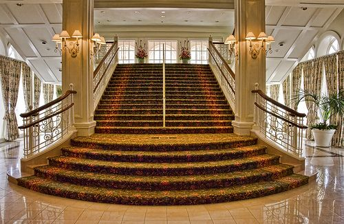 The main stairway in the lobby of Disney's Grand Floridian Resort. We've never stayed there, but we always find time to visit. The lobby is beautiful!  Reached Explore January 18th, 2011 at #439. Thanks everyone!  Disney's Grand Floridian Resort & Sp We have the latest e-cigarette models and a great variety of e-liquid flavors. Visit us at www.e-cigarilicious.com