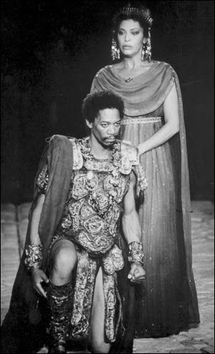 Morgan Freeman in Coriolanus. Shakespeare Solved: Shakespeare Uncovered Taming of the Shrew