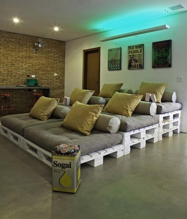 Бюджетные идеи для мебели из палет