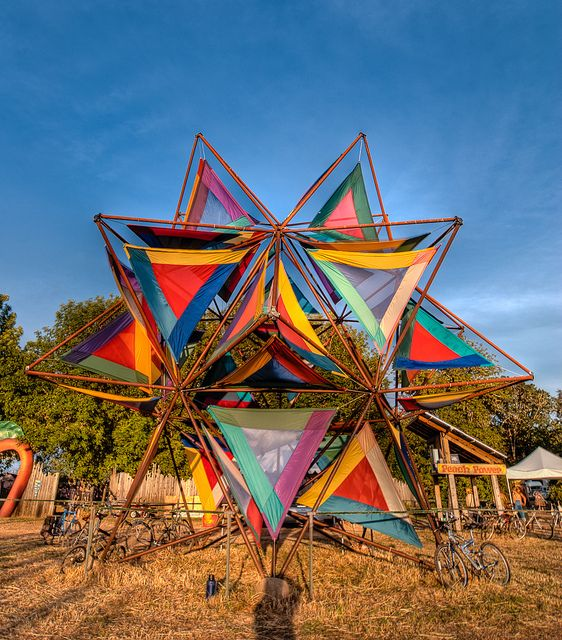 loshippies:    The Pole Star, Oregon Country Fair 2010 by Michael Holden on Flickr.