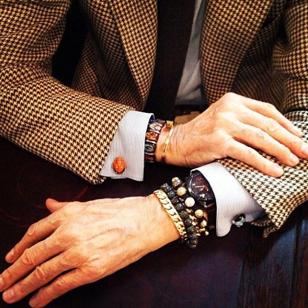 Shamballa Jewels bracelets. A bit of luxury for the men.