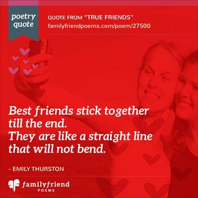 Short True Friend Poem, True Friend