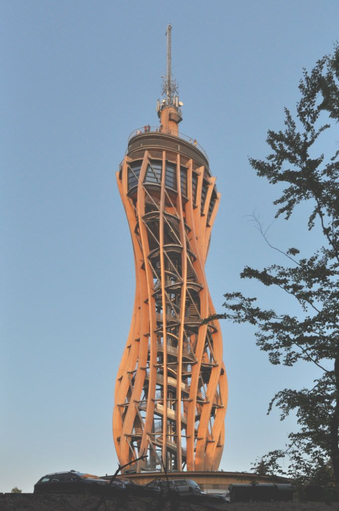 Designed with Dlubal Software: Look-Out Tower on Pyramidenkogel, Austria | Dlubal Blog