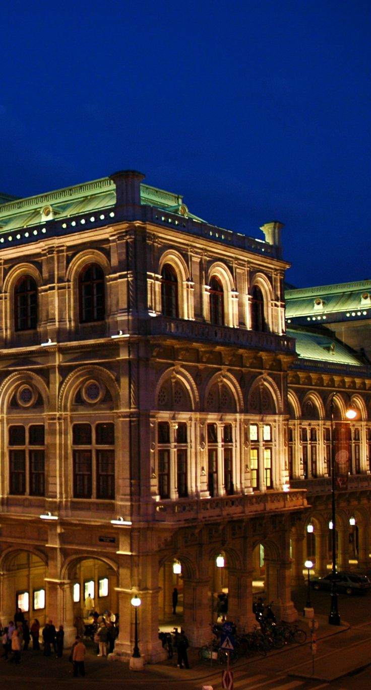 The Vienna State Opera is the setting of the World famous opera ball.
