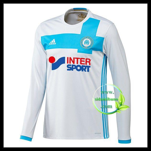Fotballdrakter Olympique de Marseille Langermet Hjemmedraktsett 2016-2017