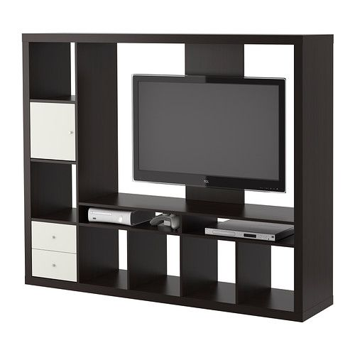1000 ideas about tv storage unit on pinterest tv for Expedit tv bench