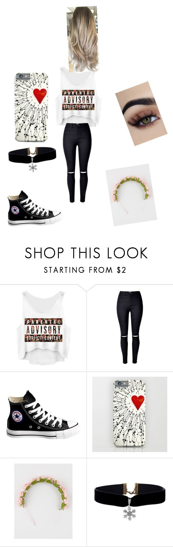 """Untitled #147"" by raratrainer on Polyvore featuring Converse and Full Tilt"