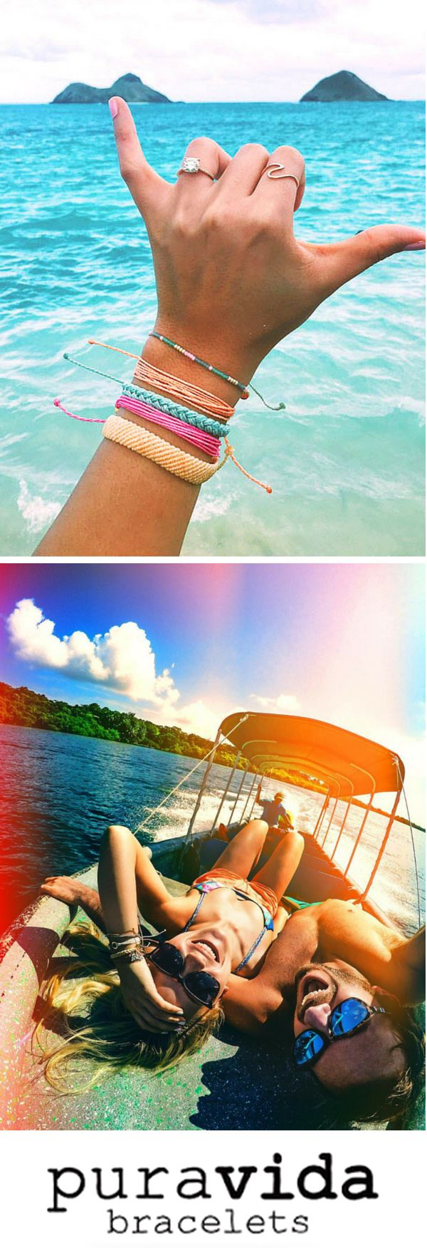 Style your wrist this season with beautiful hand-made bracelets from Costa Rica! Every bracelet purchased helps to provide full-time jobs to local artisans. Use code 'PV20' for 20% off all orders plus free shipping within the U.S. Join the Pura Vida movement!