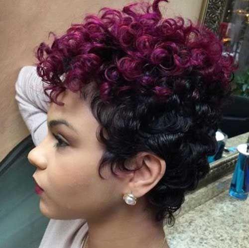las ltimas tendencias de color de pelo corto para las seoras