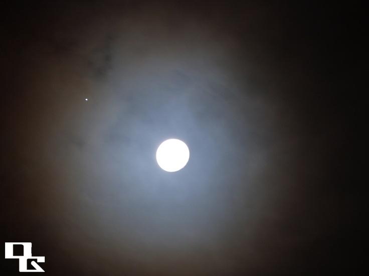 Moon & Jupiter