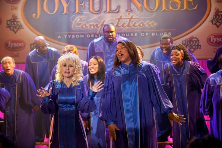 Dolly Parton, Queen Latifah make 'Joyful Noise'