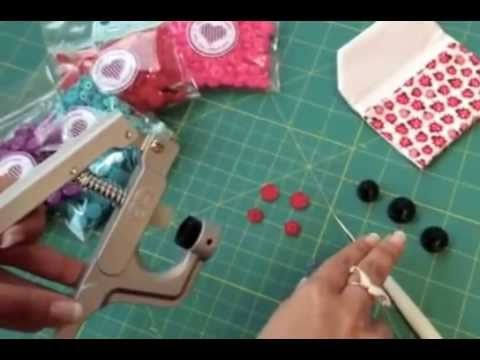 How to Install Plastic Snaps with KAM Snap Pliers (Instructional Tutorial) - YouTube