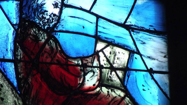 Germany, St. Stephan Mainz, Stained Glass Windows (Artist: Marc Chagall)