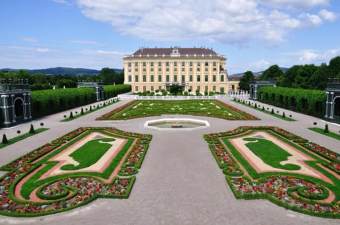 Vienna historical city - Schonbrunn palace and gardens  #trivo